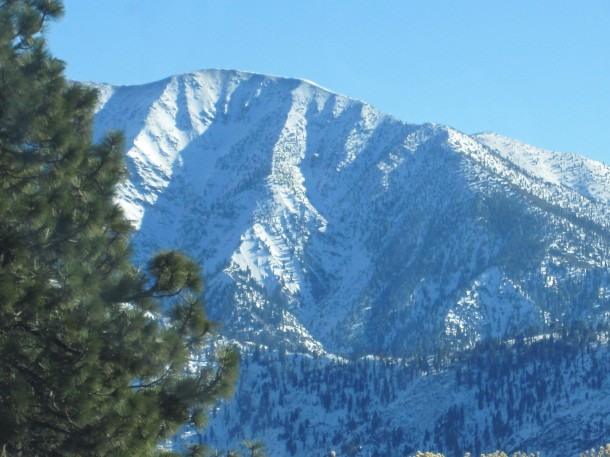 Wrightwood Elevation : On route french a l carte