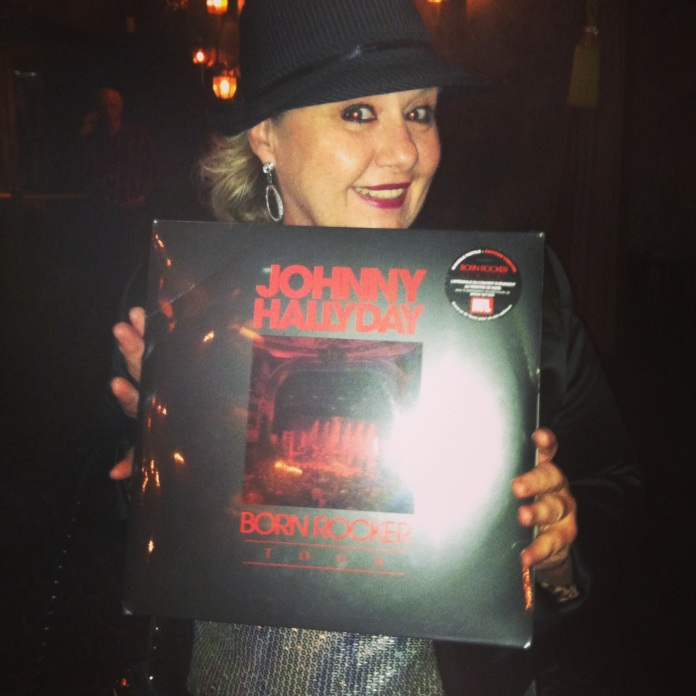 "Won Johnny's album at his ""Born Rocker"" Concert in Los Angeles"