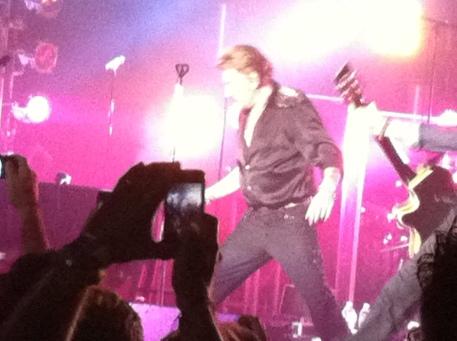 Johnny Hallyday Orpheum Concert