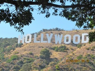Hollywood Sign (close up)