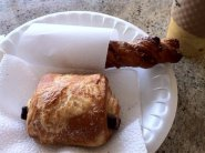 Pain au chocolat at Avignon Bakery