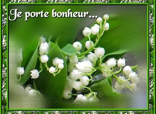 carte muguet 1er mai Le Muguet du 1er mai / May 1st Lily of the Valley | FRENCH A L.A