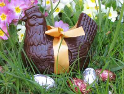 The French Easter Bunny is…a Hen!