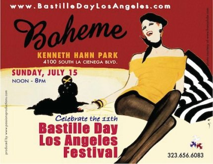 Bastille Day Los Angeles 2012