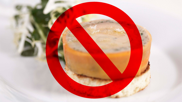 Le Foie Gras is Officially Banned in California!