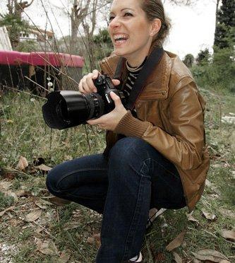 Emmanuelle Choussy à la chasse aux paillettes …