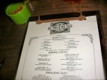 Bow & Truss Menu