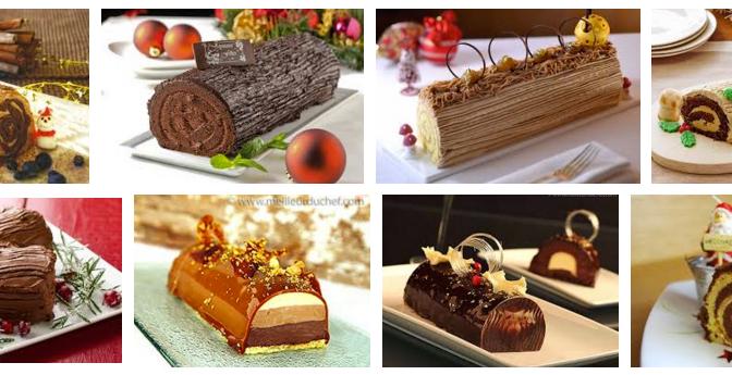 La Bûche de Noël – Yule Log Cake