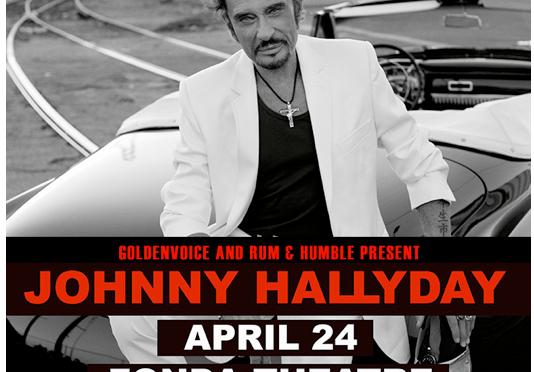 Johnny Hallyday's Born Rocker Tour kicks off in Los Angeles at Fonda Theatre