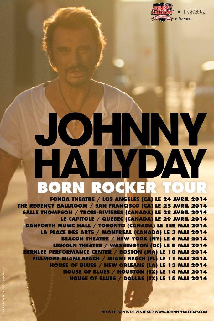 JOHNNY HALLYDAY TOUR