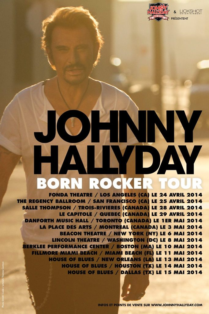 JOHNNY HALLYDAY TOUR