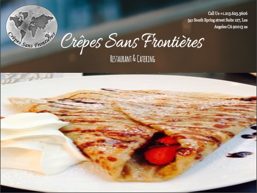 Book LAunch Sponsor Crepes SF