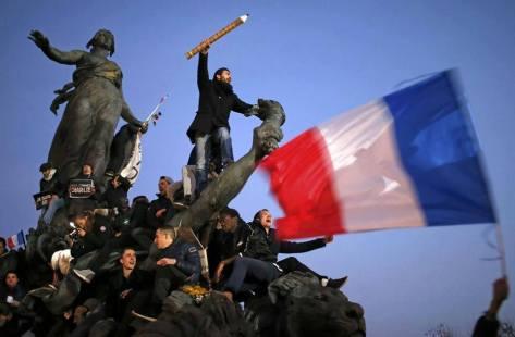 Paris Marche republicaine 11 janvier 2015