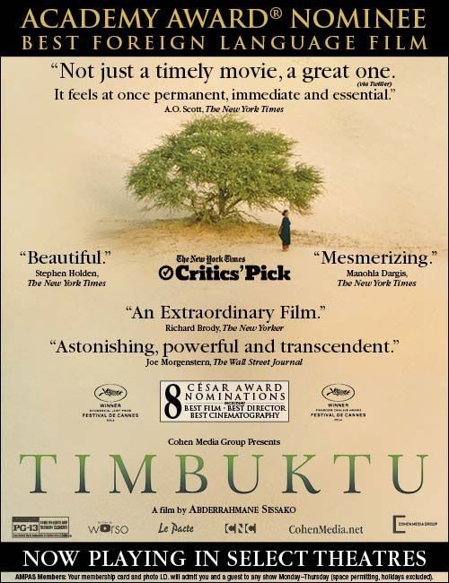 TIMBUKTU%22, written and directed by Abderrahmane Sissako,