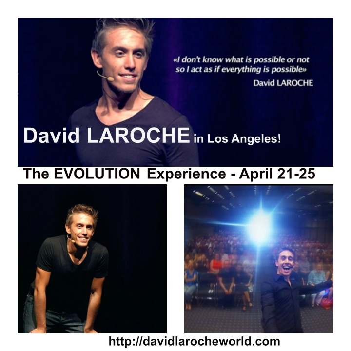 DAVID LAROCHE LOS ANGELES SEMINAR