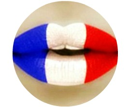French A LA Carte lips circle
