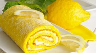 Buche au citron