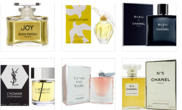 10 Classic French  Perfumes