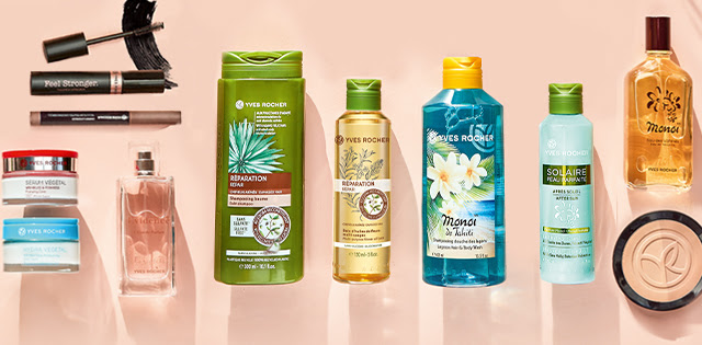 Yves Rocher Botanical Beauty Products