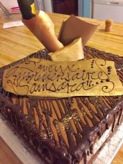 Opera Cake Main street Bakery