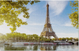 Eiffel Tower in Paris, France Photography Puzzle